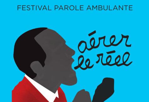 affiche du festival Paroles Ambulantes
